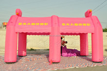 6m Pink Inflatable wedding tent