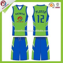 Ventas al por mayor baratos de baloncesto de la escuela uniformes diseño, nuevo estilo de baloncesto camiseta