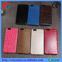 Crocodile Design Luxury Cover Leather Premium Cases For iPhone 6 6S 6 Plus