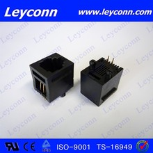 High precision factory directly single port 4P 4C RJ45 Connector