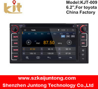 6.2 inch car dvd player 1080p high definition touch screen