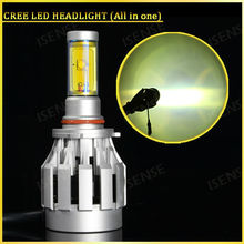 Hot selling h4 h7 h8 h9 h10 h11 h16 CREEs HEADLIGHT for toyota fielder