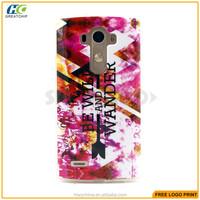 New Arrival PC TPU Cases For LG G4 Mini smartphone PC Leather Case Cute Carton PC case