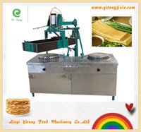 Electromagnetic automatic double pan pancake machine YT-S400DS