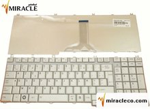 brand new Laptop keyboard For TOSHIBA L500 SILVER Layout FR / French