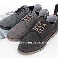 ssd01110 mans wool blend oxford sneakers