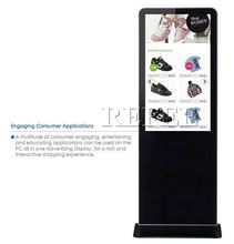 high definition interactive multi touch screen table/digital signage totem