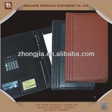Smooth pu leather portfolio