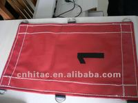 Vinyl Coated Reinforced Red PVC Tarpaulin For Truck Cover