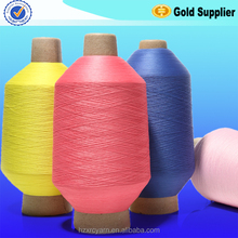 Factory Direct wholesale high quality twisted dyed spandex yarn for sewing drawstring bag