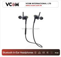 VCOM Fashion Cheapest Inner Voice Changer Sport Bluetooth Earphone Mini Bluetooth Hearphone