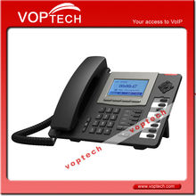 New! HD Voice Advanced IP Phone. 4 Sip lines & 1 IAX2 line. 8DSS Keys. Expansion Console Supported