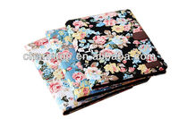 Flower Design Wallet Leather Case With Card Holder For iPad Air