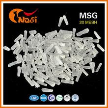 Nasi 454g 50% saflıkta msg 80 mesh helal monosodyum glutamat