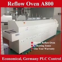 economico forno smt 8 zone macchina di saldatura reflow a800 con il centro di supporto disponibili