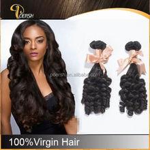 Alibaba China Supply 100% Virgin 6A Natural Black hair headband