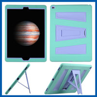 C&T 3in1 Hybrid Case Hard Cover Pc+Silicone Full Body Protective High Impact Defender Cover For iPad Pro
