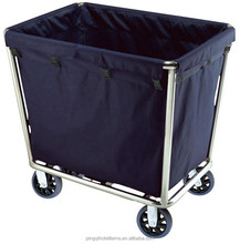 hotel carts cleaners trolley rubbermaid cleaning cart