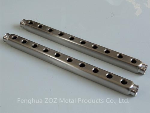 Stainless steel pex manifold bar