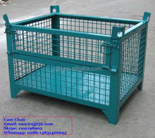 Heavy Duty Metal Collapsible Bulk Storage Bin