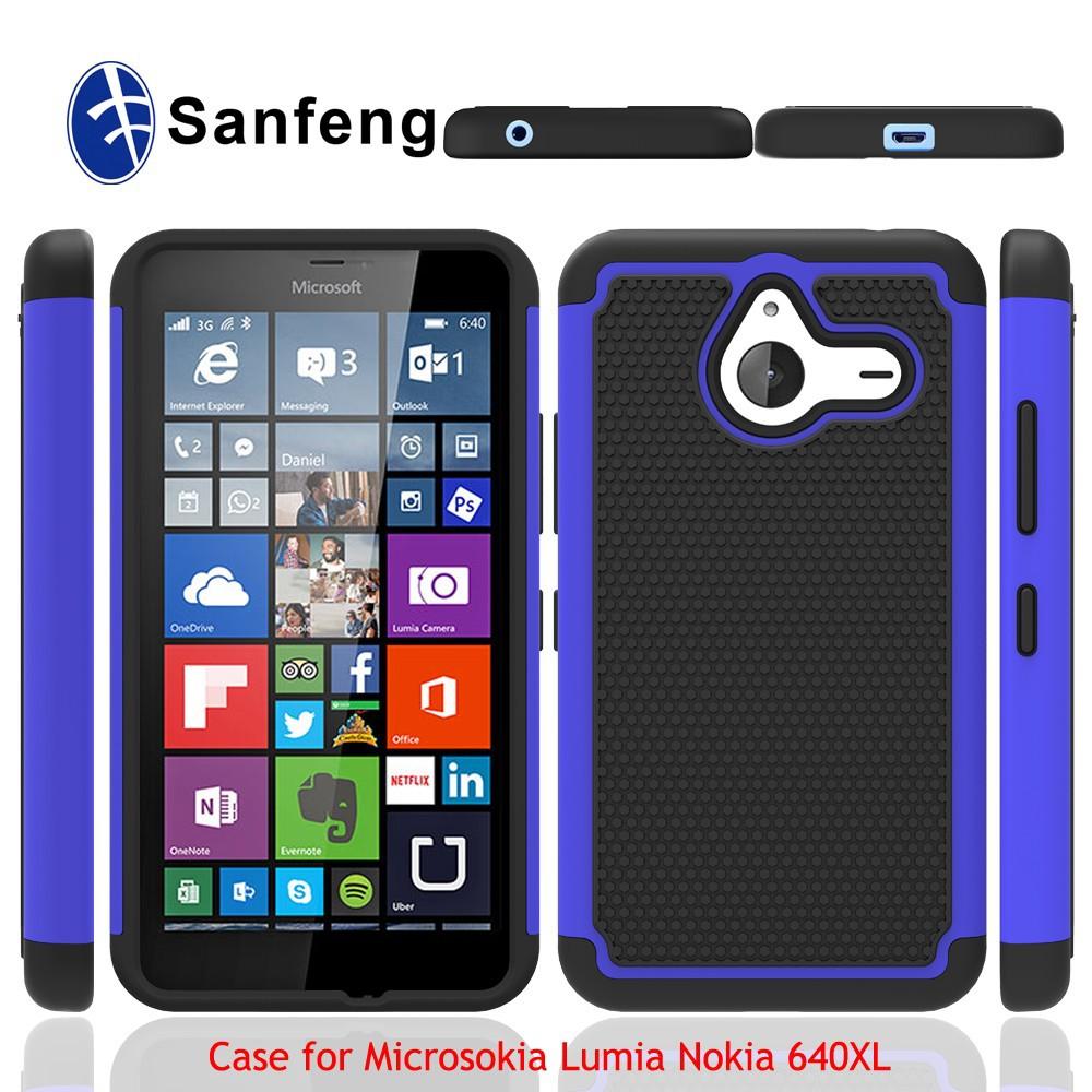 Gel di silicone cover per nokia Microsoft 640, per Lumia 640xl caso ...