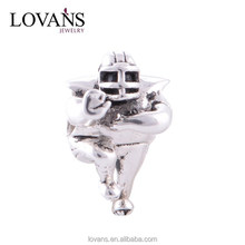 Silver Sport Gift China Supplier Charm Accessory Silver 925 Rugby Charm Gift for Good Friends YZ004