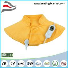 Yellow Heated Back Warmer, Electric Heat Shawl, Newest Electric Heated Shawl