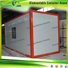 Plano envase para su casa de contenedor modular
