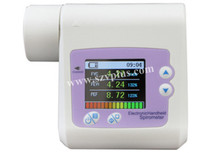 2014 hot selling SP10 Color display Spirometer+ software + USB cable