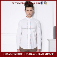 100% Cotton High quality man dress shirts latest shirt designs for men