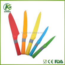 Free sample knife! factory direct low price kitchen knife sets, multicolor available
