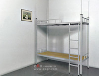 Metal School Furniture Dormitory Triple Bunk Beds Sale For Sale