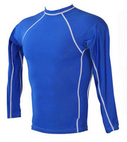 long sleeve rash vest for adult with uv50+