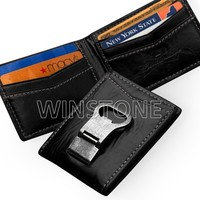 Perfect Product Leather Money Clip Wallet with Bottle Opener
