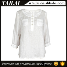 Apparel supplier Fitness ladies wholesale linen clothing