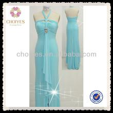 CY50311 classical ladylike graceful halter girls dresses USA UK graduation gown