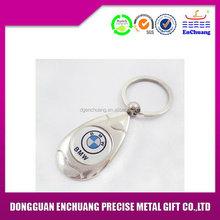 Modern new coming metal keychain zinc alloy