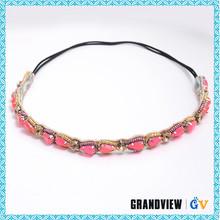 China custom wholesale beautiful design halo headband