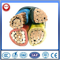 4x25mm2 underwater low voltage power extension electrical cable