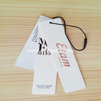 garment hang tags China suppliers
