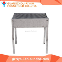 Modern picnic stainless steel charcoal bbq grill with price