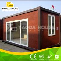 Steel prefab disaster relief housing