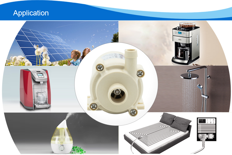 Non-pollution submersible solar pump/water pump with high performance brushless motor