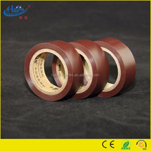 19mm width customized printed pvc electrical tape