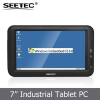 SEETEC 7 inch battery powered industrial touch screen panel pc linux with mini usb input