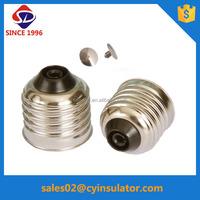e27 brass lamp holder metal cap