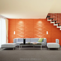 indoor easy install oil painting decorative textured wall panels