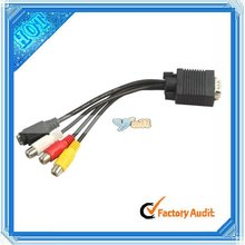 VGA SVGA TO S-Video 3 RCA Computer TO TV Cable (CL083BL)