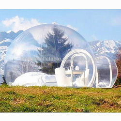 Inflatable outdoor trade show dispaly tent