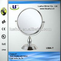 cheap furniture magnifying window frame mirror